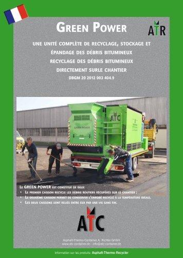 green power - Data Richter Maschinenfabrik AG