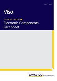 Electronic Components Fact Sheet