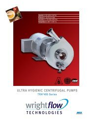 ULTRA HYGIENIC CENTRIFUGAL PUMPS - Viking Pump Canada