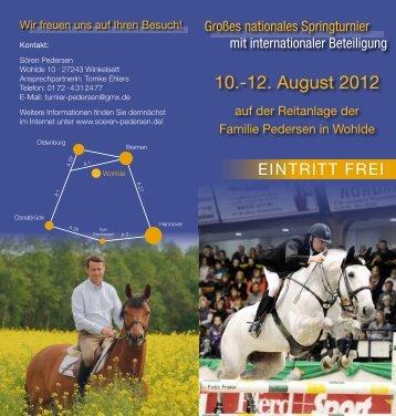 10.-12. August 2012 - Soeren Pedersen Deutschland