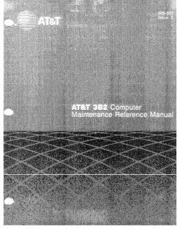 AT&T 3b2 maintenance manual.pdf - Unixwiz.net