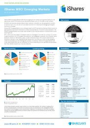 iShares MSCI Emerging Markets - The Index People BV