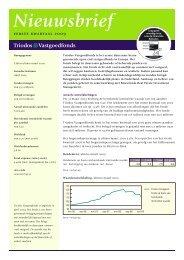 TLVastgoedfonds Nieuwsbrief - The Index People BV