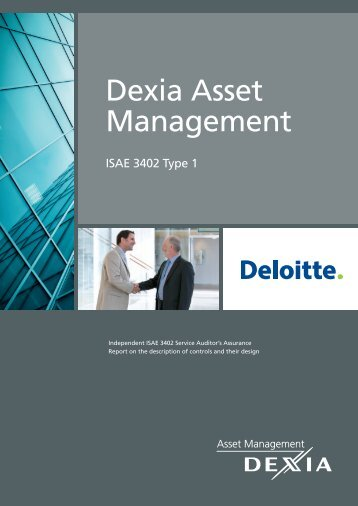 After a lengthy process dating back to March 2012, Dexia AM was ...