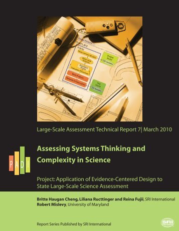 Assessing Systems Thinking and Complexity in Science - Evidence ...
