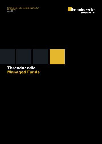 Threadneedle Managed Funds - Threadneedle Investments