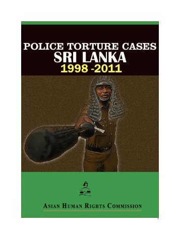 Police Torture - Asian Human Rights Commission