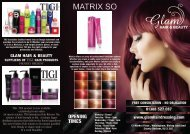 Glam Hair Beauty menu 24 july 2012.cdr - Glam Hairdressing