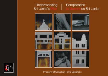 Understanding SL's War - Ilankai Tamil Sangam