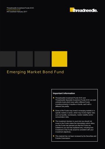Emerging Market Bond Fund - Threadneedle - Investments