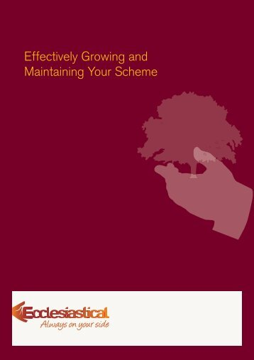 Effectively Growing and Maintaining Your Scheme - Ecclesiastical ...