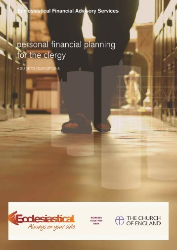 Clergy workbook - Ecclesiastical Insurance