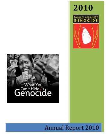 TAG Annual Report 2010-Final - Tamils Against Genocide