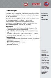 Product Data Sheet - Phillips 66 Lubricants