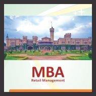 Curriculum MBA in Retail Management - Gems B-School