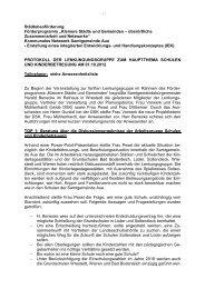 Protokoll Lenkungsgruppe Schulen - Samtgemeinde Aue