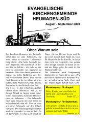 Word Pro - 2008-81Text.lwp - Kirchengemeinde Heumaden-Süd