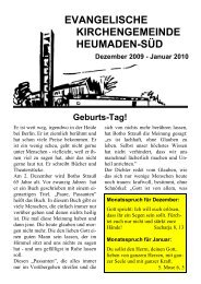 Word Pro - 2009-12Text.lwp - Kirchengemeinde Heumaden-Süd