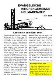 Word Pro - 2009-6Text.lwp - Kirchengemeinde Heumaden-Süd