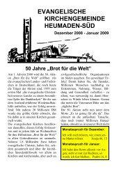 Word Pro - 2008-12Text.lwp - Kirchengemeinde Heumaden-Süd