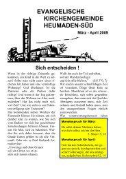 Word Pro - 2009-3-4Text.lwp - Kirchengemeinde Heumaden-Süd