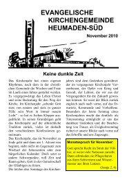 Word Pro - 2010-11Text.lwp - Kirchengemeinde Heumaden-Süd