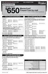Whirlpool Corp. Marketing Materials - US Appliance