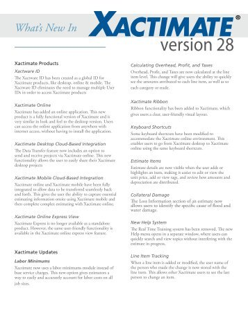 version27 3 xactware s eservice center rh yumpu com Xactimate 28 Training xactimate 28 support