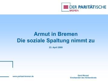 Präsentation DPWV Wenzel-soziale Spaltung nimmt zu.pdf - Bremen