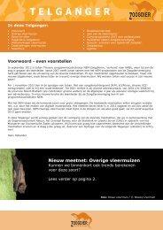 Telganger april 2013 webversie.pdf - Zoogdierwinkel