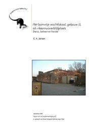 2006.62 Kromhout deel 3_0.pdf - Zoogdierwinkel