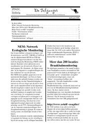 H:\AB-Zm\Telganger\Definitieve versies\1998-1999 ... - Zoogdierwinkel