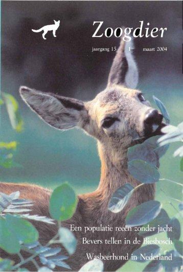 Inhoud Zoogdier 15(1) maart 2004 - Zoogdierwinkel