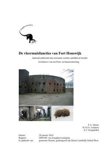 VZZ Sjabloon rapport - De Zoogdiervereniging