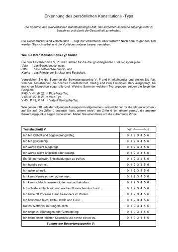 Erkennung des persönlichen Konstitutions -Typs - Grauschnauze