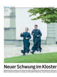 Neuer Schwung im Kloster - KristinaReiss.com