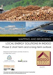 mapping and brokering local energy solutions in indigo