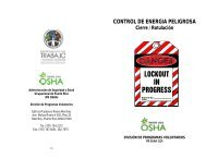 Control de Energía Peligrosa - Departamento del Trabajo y ...