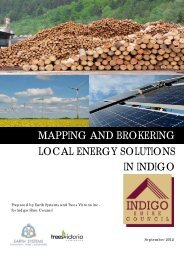 Indigo Shire - renewable energy mapping - Indigo Shire Council
