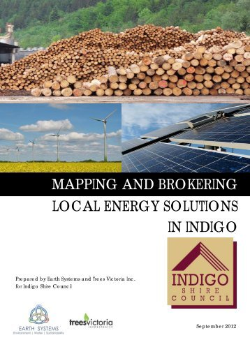 Indigo Shire - renewable energy mapping - Indigo Shire Council