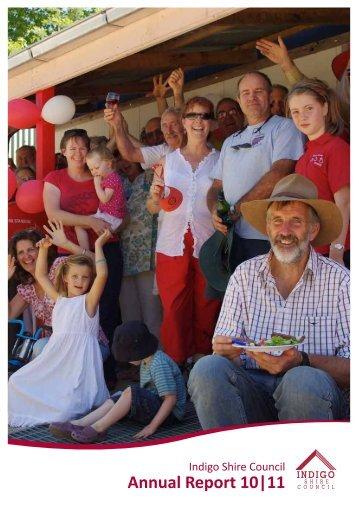 Annual Report 10 11 - Indigo Shire Council