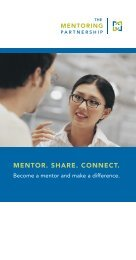 The Mentoring Partnership General Brochure - Allies