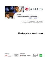 Read the Marketplace Booklet - Allies Canada
