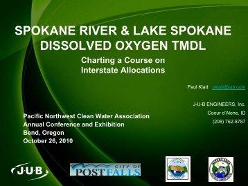 Spokane River TMDL - pncwa