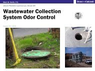 Collection Systems Odor - pncwa