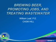 Brewing Beer, Promoting Jobs - pncwa