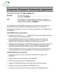 Corporate Champion Partnership Agreement - Allies