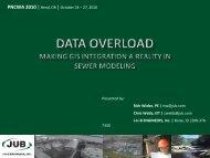 Data Overload - Making GIS Integration - pncwa