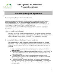 Program Coordinator & Mentee - Allies Canada