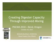 Creating Digester Capacity Through Improved Mixing - pncwa
